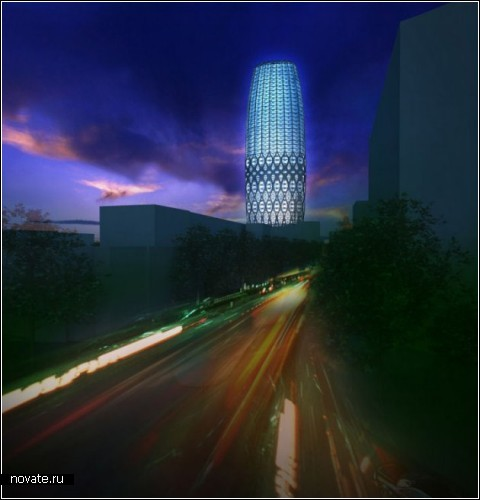 Небоскреб Dorobanti tower в Бухаресте. Проект Zaha Hadid Architects