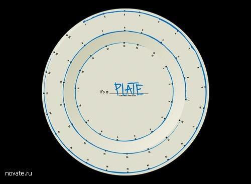 Креативная посуда от Эдит Левин. Коллекция Сonnect-the-dots
