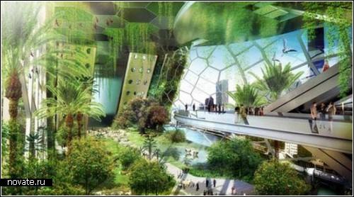 Dragonfly Vertical Farm - проект вертикальной фермы для города
