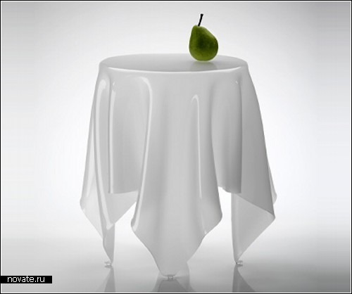 Illusion side table: не стол, а сплошная иллюзия