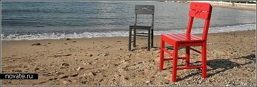 Эмоциональные стулья от  P-arch company