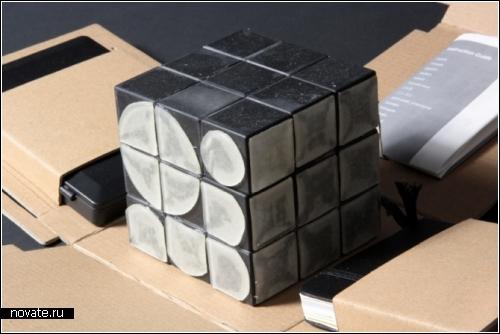 Кубик-буквогенератор. Rubik's Cube Font Generator для моделирования шрифтов