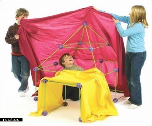 Ребенок играет - родитель отдыхает. Универсальный конструктор для всей семьи