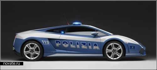 Шикарная полицейская *ламбаржина*
