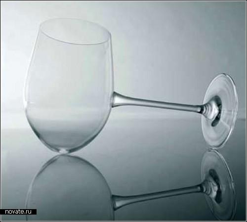 Дизайнерские рюмки, бокалы и фужеры. Обзор