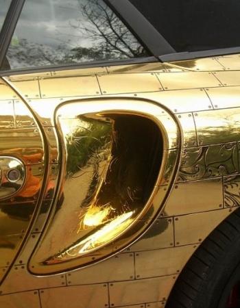 золотая моя машиночка - скажет владелец, и будет прав в буквальном смысле слова
