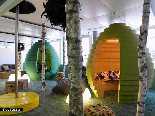*Детский мир*, построенный компанией Google для своих креативщиков