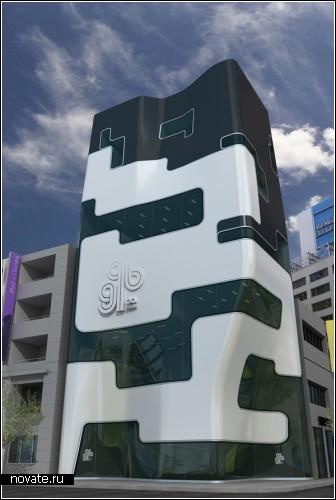 GQ BANK - банк будущего в Токио. Концепт
