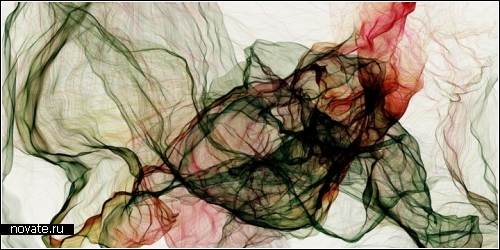 Разноцветные разводы на белых стенах. Дизайн интерьера от Eno Henze