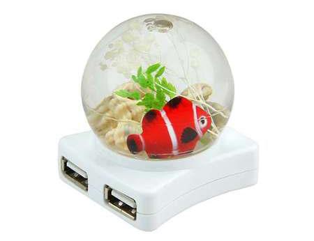 Мини-`аквариум` с пользой для дела