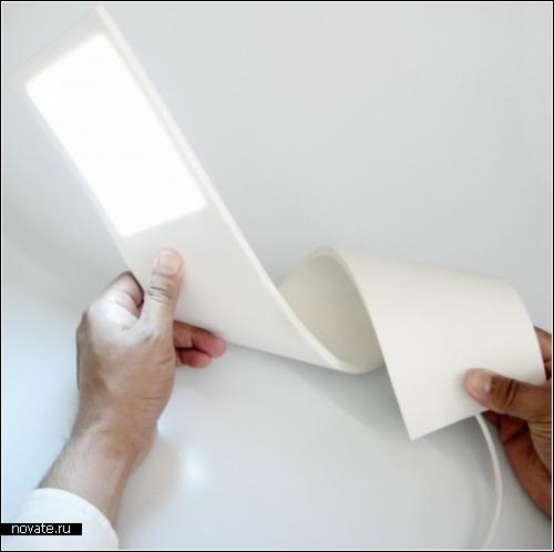 Гибкая лампа iLamp от испанской студии SystemDesign