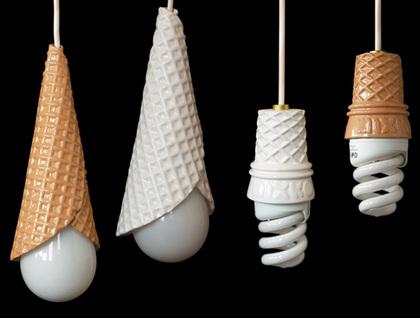 Мороженое на шнурке