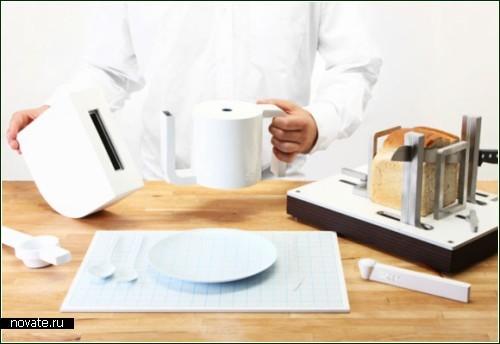 Сервировка стола с точностью до миллиметра, милиграмма