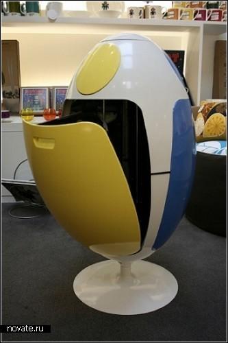 Яйцо для сбора и сортировки мусора