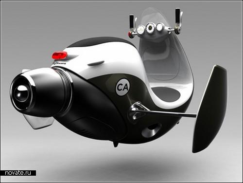 JetScooter. Концепт транспорта для молодежи