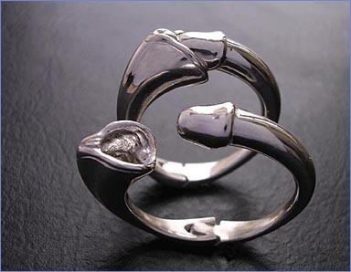 Серебряная штучка. Что-то она мне напоминает...