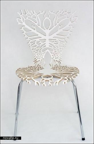 Анатомические стулья для органичного интерьера