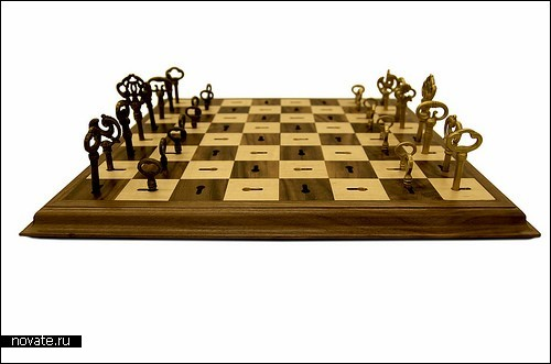 Skeleton Key Chess Set - шахматы-отмычки от Дэйва Пикетта (Dave Pickett)