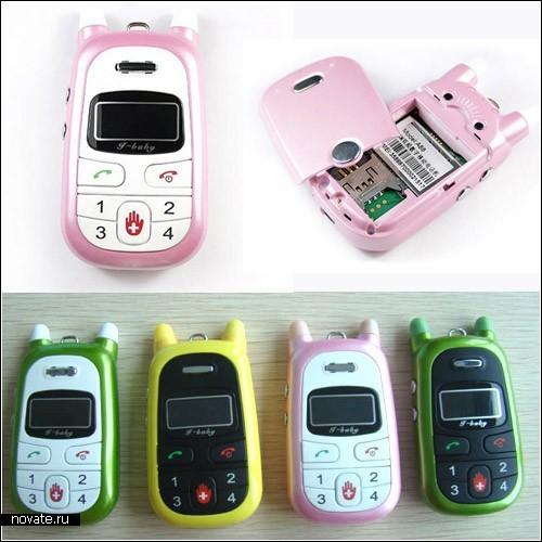 Телефоны для детей. Семейный обзор мобильников.