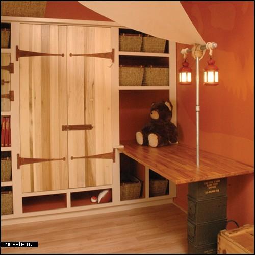 Тематические детские комнаты от дизайнерского бюро Kidtropolis