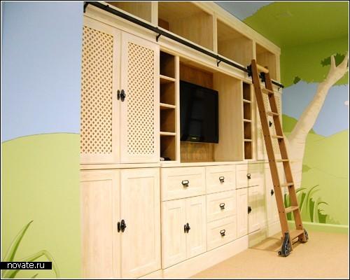 Тематические детские комнаты от