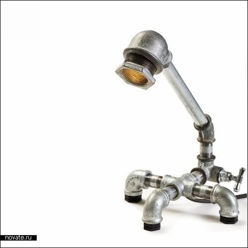 Kozo lamps - серия *сантехнических* настольных ламп от Design2009
