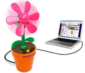 Цветок с пропеллером