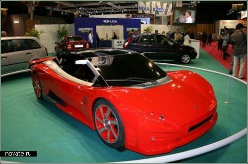 Революционный концептуальный спорткар от АвтоВАЗа
