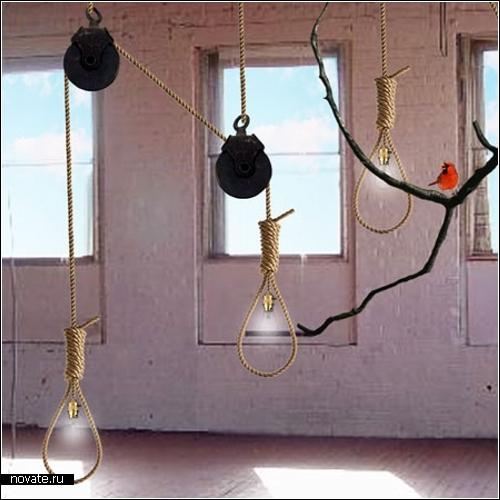 Светильники-висельники Анны-Марии Пасеску Стюарт (Ana-Maria Pasescu Stewart)