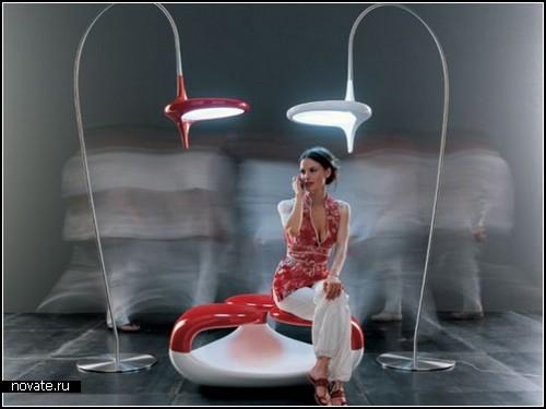 Креативные разноцветные и разномастные светильники от Odue
