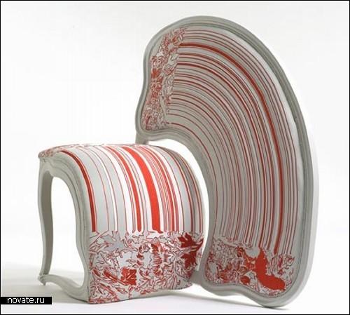 Коллекция мебели The Lathe, вдохновленная Фотошопом