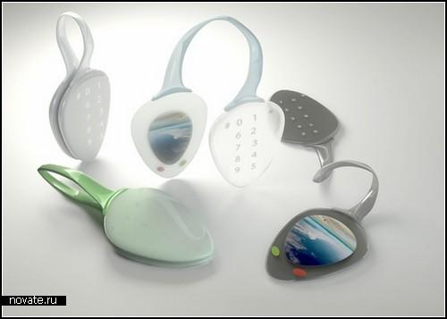 Экологически чистый концепт Leaf Phone от Анастасии Жарковой