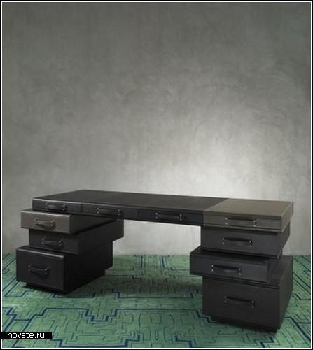 Чемоданная мебель Upcycled от Maarten De Ceulaer