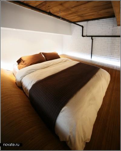 *Летающая кровать* от L. McComber Architects