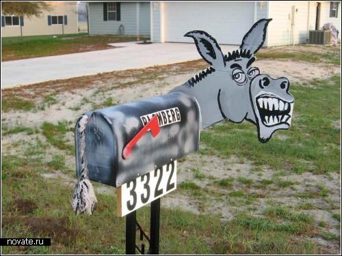Креативные почтовые ящики