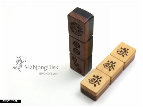 Флешка из японского домино