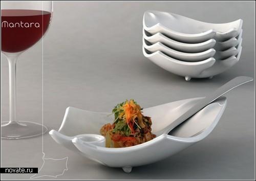 оригинальная посуда для десертов поездов станции Санкт-Петербург