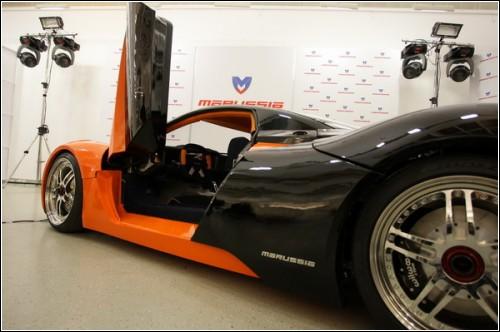 Российский спорткар Marussia