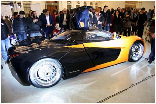 Русская красавица Marussia - первый отечественный спорткар