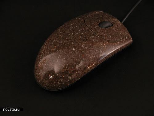 Мышки из натуральных компонентов. Почти каменные