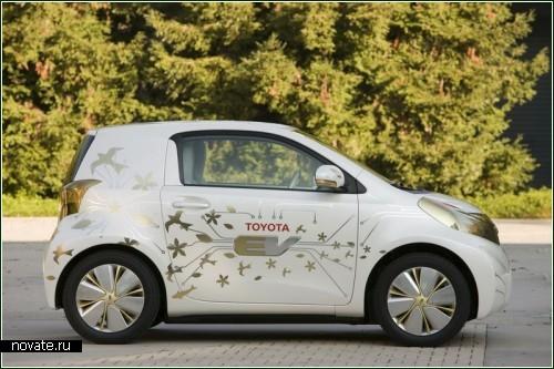 Toyota FT-EV - милый и компактный электромобильчик