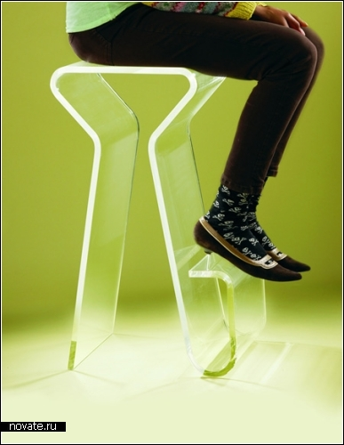 Дизайнерские стулья, табуретки, пуфики. Обзор