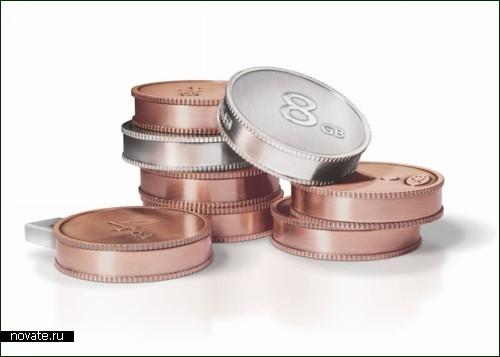 На что еще способны железные монетки? :)