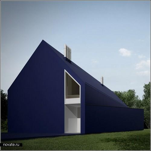 Пластиковый дом от moomoo archotects