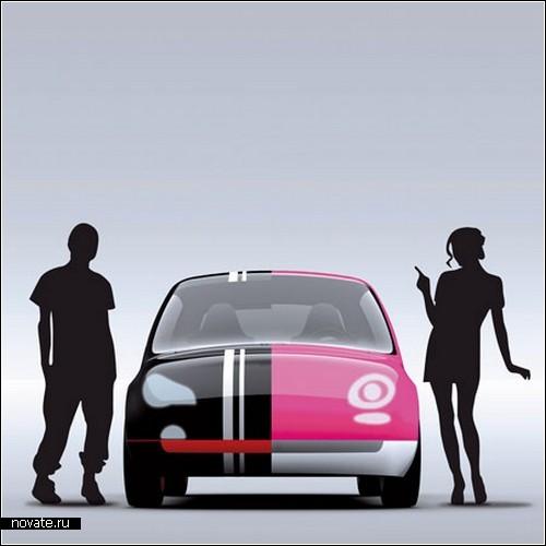Концепт автомобиля со сменным *интерфейсом* от Элвиса Томленовича (Elvis Tomljenovic)