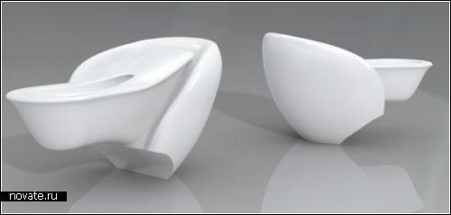 Концептуальный туалет Нельсона Айялы (Nelson Ayala)