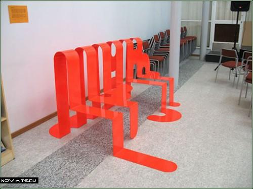 Обычная мебель под необычным *соусом*