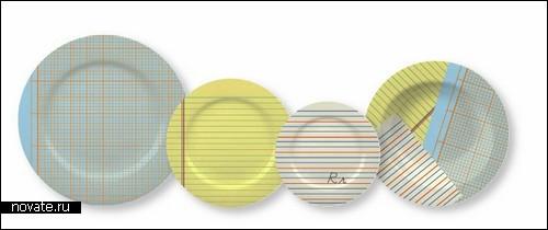 Paper plates. Не-бумажная посуда от Joshua Gajownik