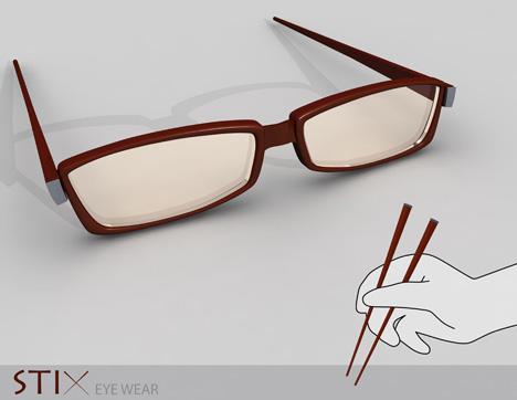 Легким движением руки очки превращаются...