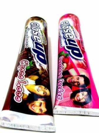 Вкусная зубная паста